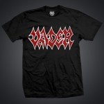 ASCETIC VADER LINE - Black t-shirt/ logo red/ men