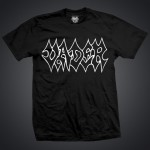 ASCETIC VADER LINE  - Black t-shirt/ logo contour/ men