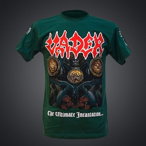 VADER - ULTIMATE INCANTATION TOUR PL T-shirt (green) + BONUSY