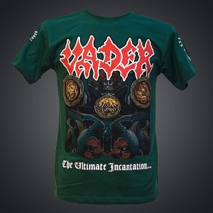VADER - ULTIMATE INCANTATION TOUR EU T-shirt (green) + BONUSES