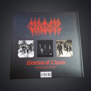 "AUTOGRAPHS! VADER - ""Genesis of Chaos MCMLXXIII - MCMXC"" BOOK"