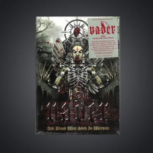 LIMITED! with AUTOGRAPHS! DVD+ CD - VADER - And Blood Was Shed in Warsaw (digipack)