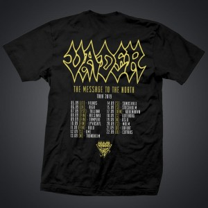 "TOUR! ""The Message to the North"" 2(t-shirt men)"