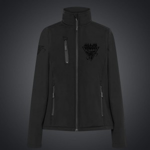 Women JACKET (softshell) VADER/ black embroidery