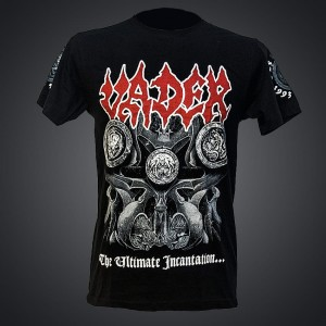 VADER - ULTIMATE INCANTATION TOUR EU T-shirt (black) + BONUSES