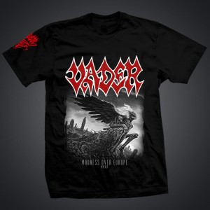 "CANCELED TOUR 2020! VADER-  ""Madness over Europe t-shirt/men"