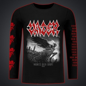 "CANCELED TOUR 2020! VADER-  ""Madness over Europe""/ long sleevet/men"