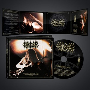 "VADER -""The Darkest Age-Live`93"" CD/ DIGI PACK"