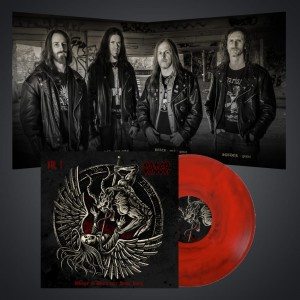 PRE-ORDER! Wings of Death over Hong Kong v1- LP/ Red MARBLE