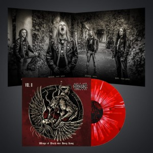 PRE-ORDER! Wings of Death over Hong Kong v2- LP/ SPLATTER czerwony